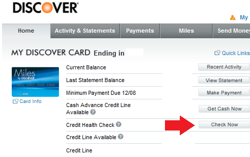 Discover Card Credit Health Check Feature Evaluated - InACents.com