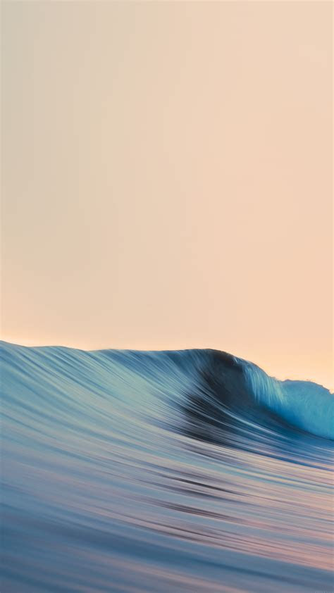 papersco iphone wallpaper ag rolling wave art simple minimal