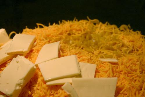 Crock Pot Mac and Cheese Before