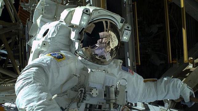 Salida al espacio en Nochebuena