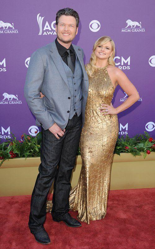 Academy of Country Music Awards - April 1, 2012, Miranda Lambert, Blake Shelton