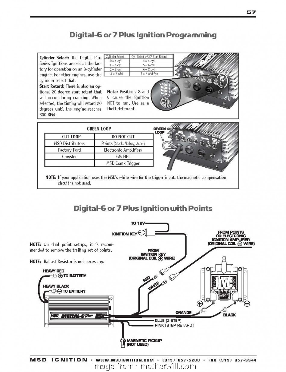 Chevy Ignition Coil Wiring Diagram Without Msd