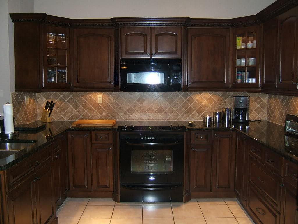 Kitchen cabinet color ideas with black appliances  Hawk Haven
