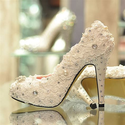 A Breathtaking Collection of White Bridal Shoes for Your