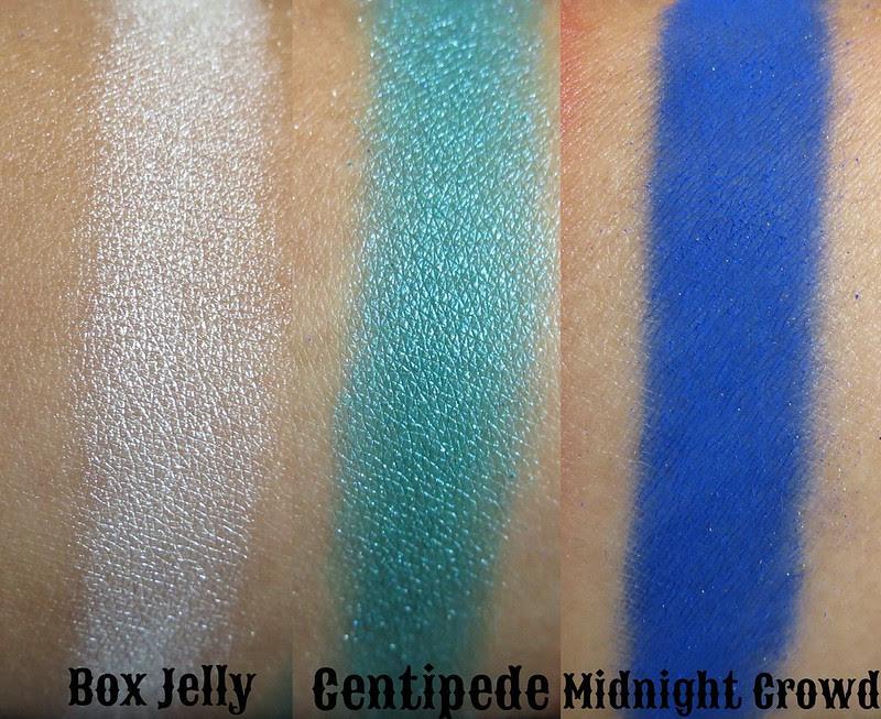 Venomous Cosmetics Box Jelly, Centipede, and Midnight Crowd