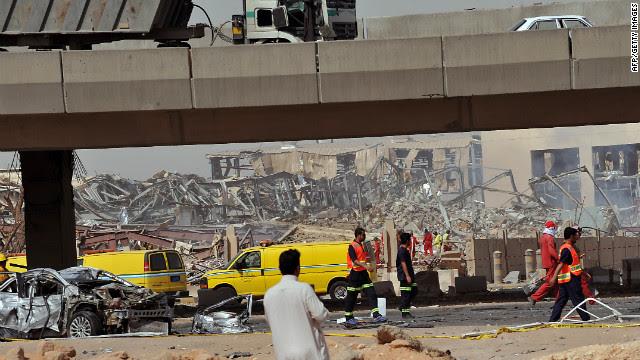 22 killed in fuel tanker explosion in Saudi Arabia