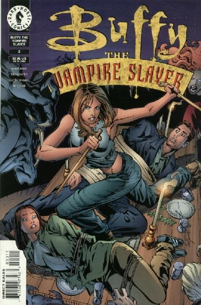 Buffy The Vampire Slayer Comic Covers