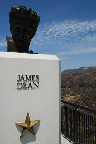 Griffith Observatory - Rebel Without a Cause Monument