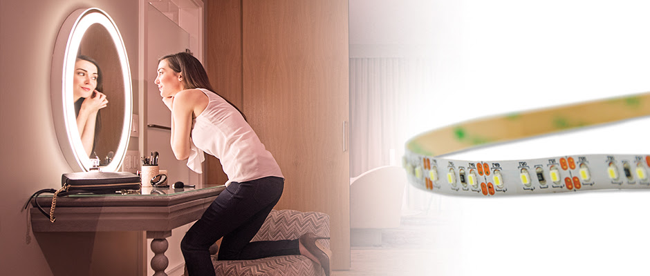 Led Lighting Strips Electric Mirror