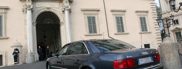 FOTO DI REPERTORIOLaPresse09/01/2012Auto blu, via ai tagli