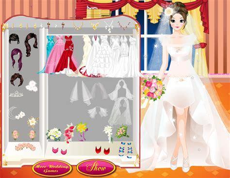 Valentine Bride Style   Wedding Dress up Games by