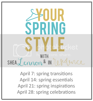 your spring style linkup series with Shea Lennon and In Residence