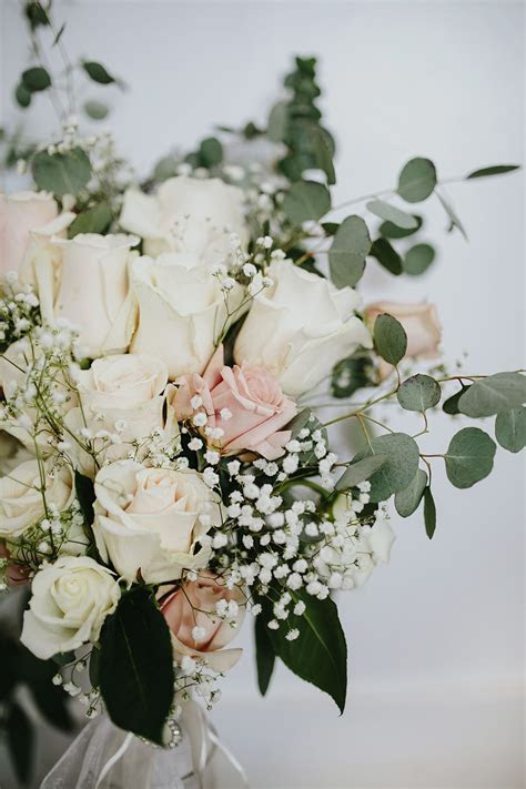 flowers: made by my mom! white roses: bulk order from