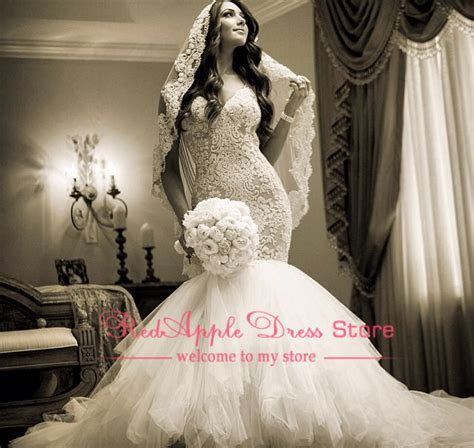 Luxury Cathedral Train Perfectly Dressed Dress Lace Long