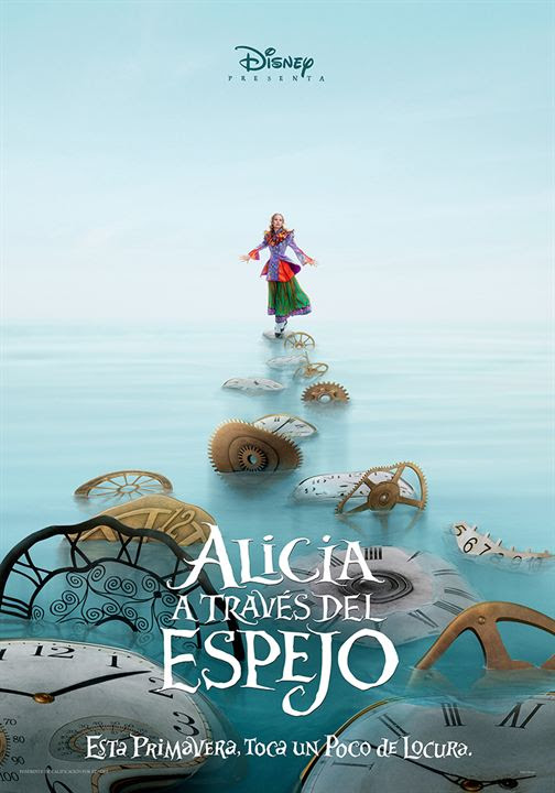 Alicia a través del espejo : Cartel
