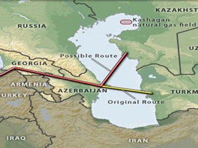 Against Russia: TransCaspian Pipeline