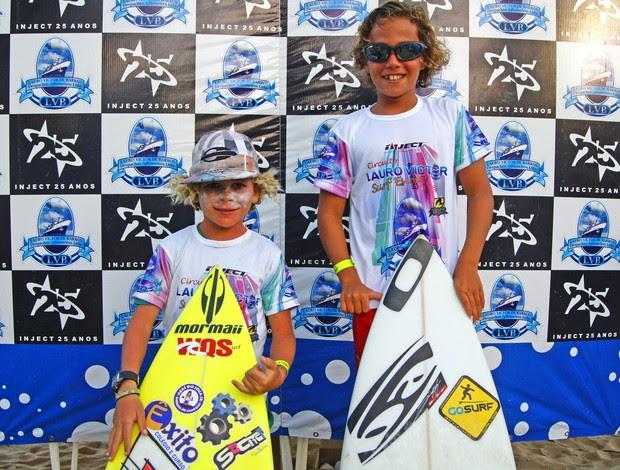 Fabrício Rocha e Mateus Sena brilham em competição da Paraíba (Foto: Divulgação)