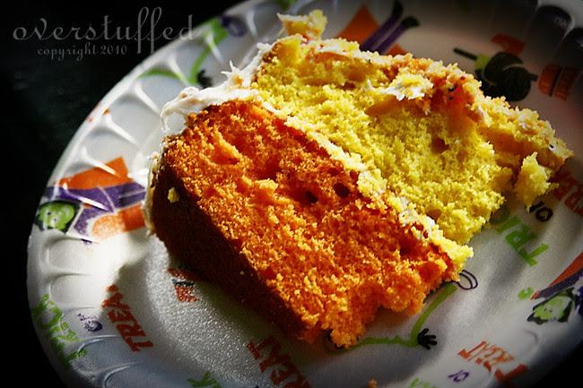 Candy Corn Cake