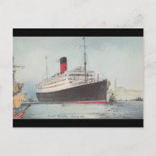 R.M.S. Carinthia Vintage Postcard postcard