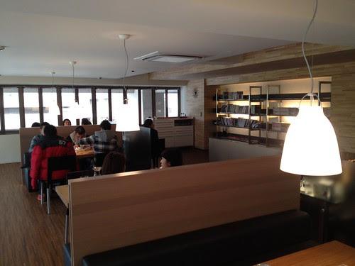 ORO咖啡館2樓