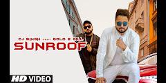 Sunroof Lyrics हिन्दी - CJ Singh, Gold E Gill