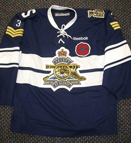 Shawinigan commemorative jersey, Shawinigan commemorative jersey