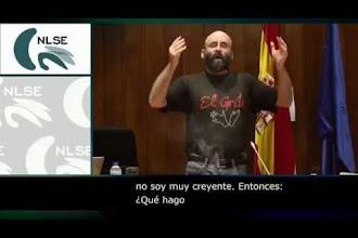 """""""Manifestaciones artísticas en LSE de El Grito"""" en el Congreso CNLSE de la Lengua de Signos Española 2015"""