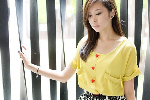 Yellow Blouse § Wearhouse
