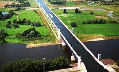 Πλωτή γέφυρα Γερμανία