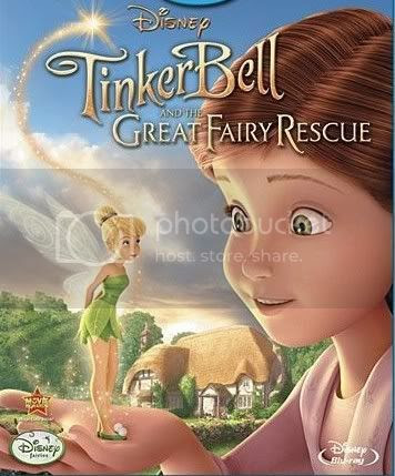 Tinker Bell and the Great Fairy Rescue Sininho Salva as Fadas