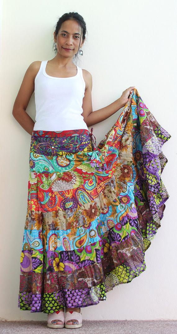 boho skirts  dressedupgirl