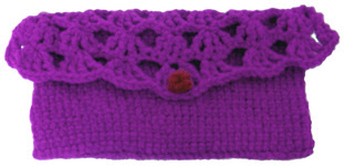 crochet small-clutch