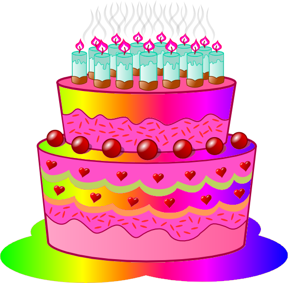 Cake Birthday Clipart