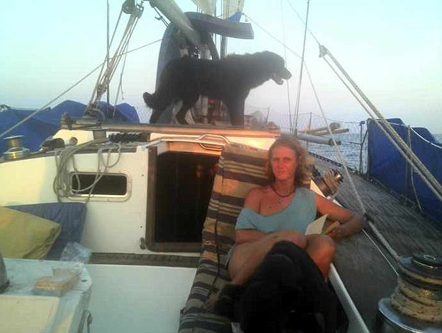 British sailor Katherine Tee says she was crossing the Indian Ocean en route to Phuket, Thailand when she saw what appeared to be a plane that was on fire with black smoke trailing behind it - possibly on the night Malaysian Airlines Flight MH370 went missing