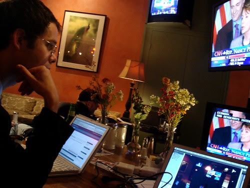 Blogging the election