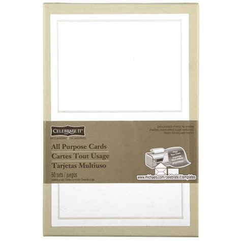 Celebrate It? Occasions? Pearl White Border Response Card