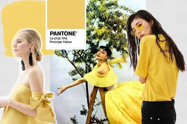 Resultado de imagem para look amarelo 2018
