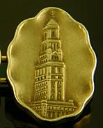 Chicago Tribune 1922 Tower Contest cufflinks. (J9169)