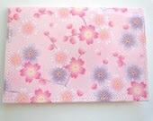 Pink Cherry Blossom Card Holder