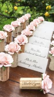 214 best Your Wedding Place Card Table images on Pinterest