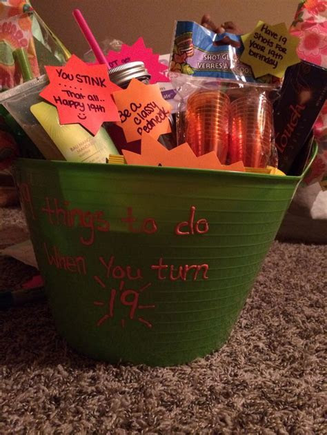 25  best ideas about 19th Birthday Gifts on Pinterest
