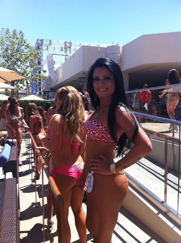 Dani Sperle participa de concurso em Las Vegas (Foto: Cacau Oliver / Divulgação)