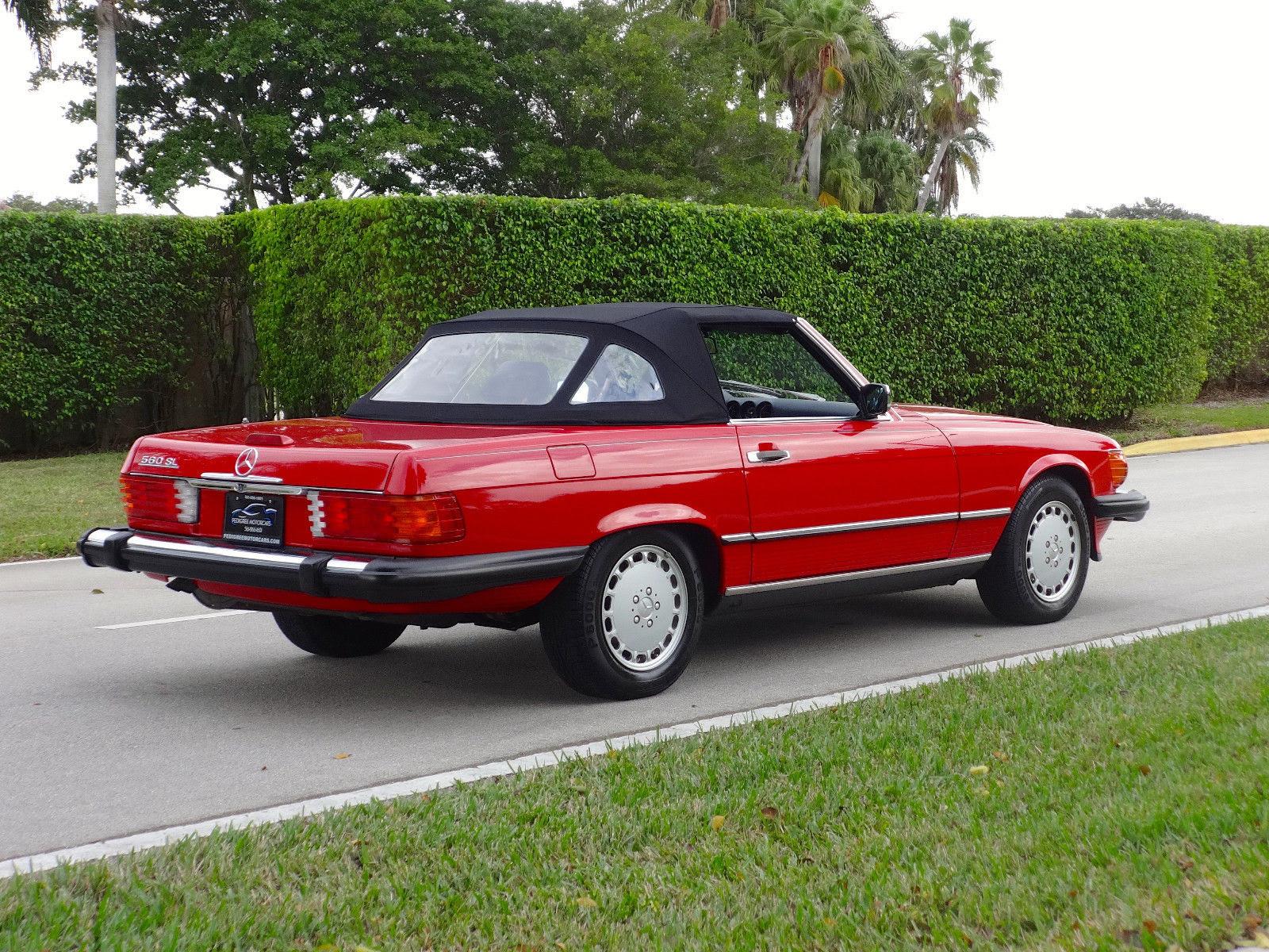 1988 Mercedes-Benz 560SL Convertible ONE OWNER, FLORIDA ...