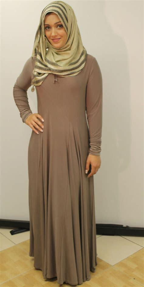 ladiesbeautiful  fashion flared umbrella cut muslim