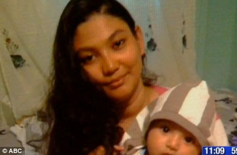 Child: The baby boy fell into a coma shortly after arriving at the emergency room of a hospital in Brooklyn, New York.