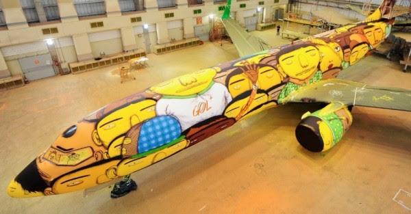 avião da seleção #1
