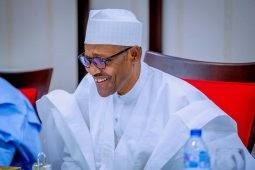 Photos: President Muhammadu Buhari hosts leadership of National Assembly to dinner