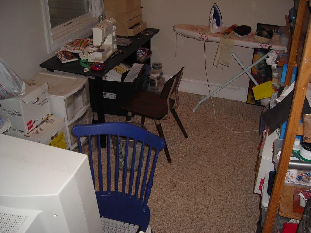 Sewing Room Clean