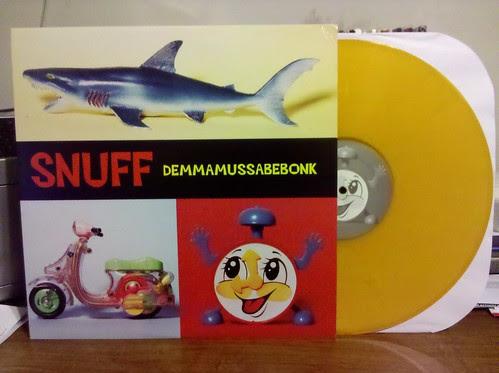 Snuff - Demmamussabebonk LP - Yellow Vinyl Reissue