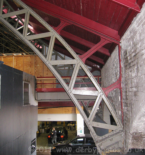 Handyside roof in Edmund Road Drill Hall, Sheffield
